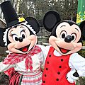 St david's welsh festival - mickey & minnie join the party!