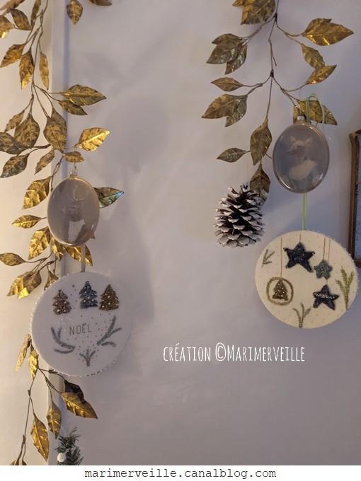 Galettes de Noël créations textiles©Marimerveille