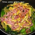 Poireau pomme de terre bacon