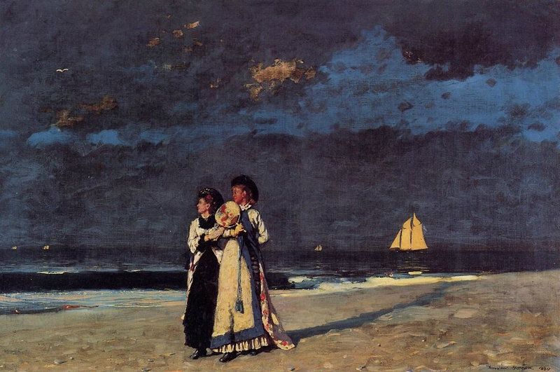 Homer-Winslow-Promenade-on-the-Beach1