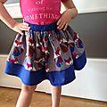 Tuto couture facile: une nouvelle jupe fille ultra-simple à faire...(spécial débutantes)