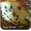 Cake aux haricots verts et au chèvre