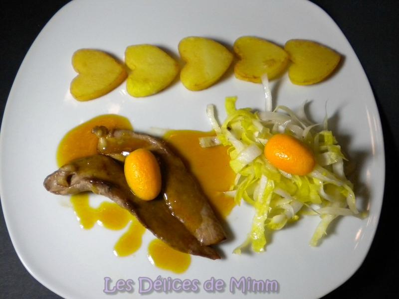 Aiguillettes de canard à l'orange et ses cœurs de pommes de terre 5