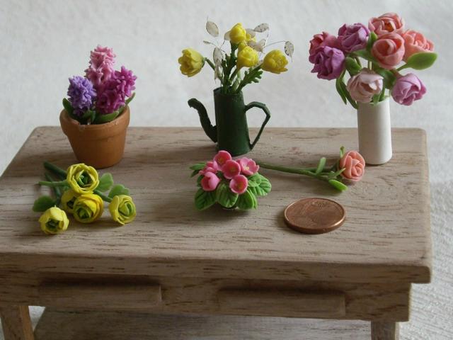 Fleurs et plantes diverses au 1/12ème