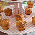 Muffin banane et épices
