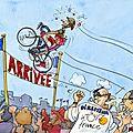 Vélo paru dans The Guardian (Collection particulière)