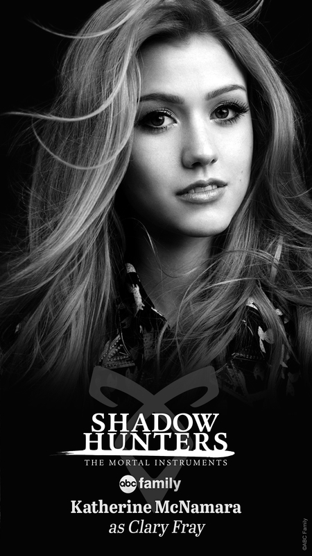 Katherine McNamara Clary Fray Shadowhunters TV ABC Family
