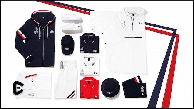 lacoste olympique france 2016