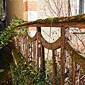 restauration d'une clôture art déco