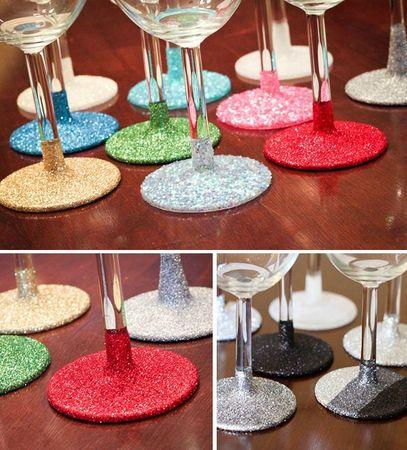 DIY_glitter_glassware