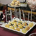 Sweet table réveillon chez gatsby : les cakes pop's
