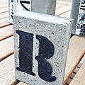 J'adore le béton !!! : presse-papier + tuto