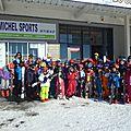 2017.01.17 Première sortie ski de descente aux Estables