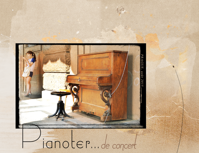 P comme Pianoter
