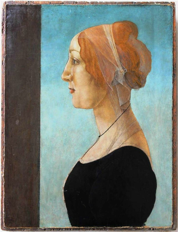 Sandro Botticelli (Florence, 1444-1510) Portrait of a Woman, 1485