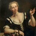 Intriguing unseen portrait by 18th century venetian master for sale at bonhams