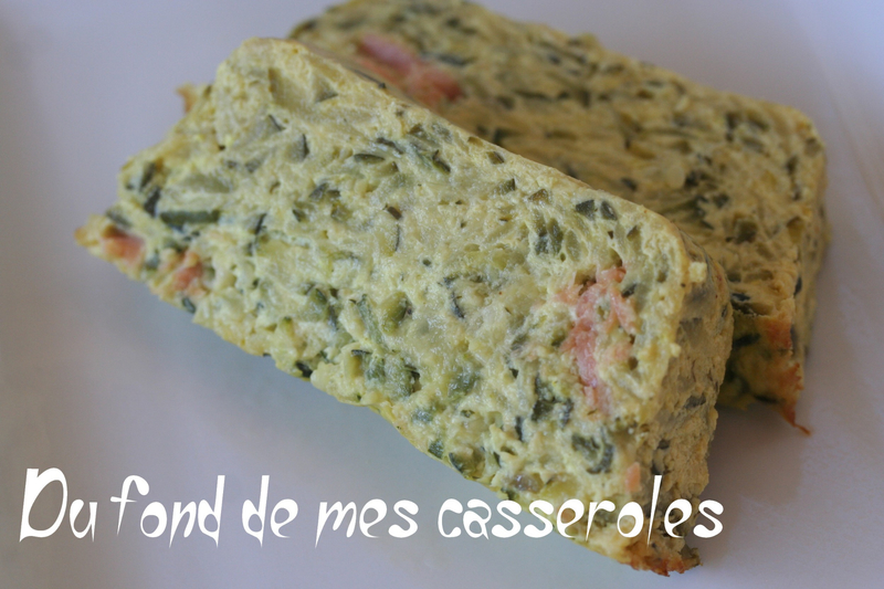Terrine courgette saumon