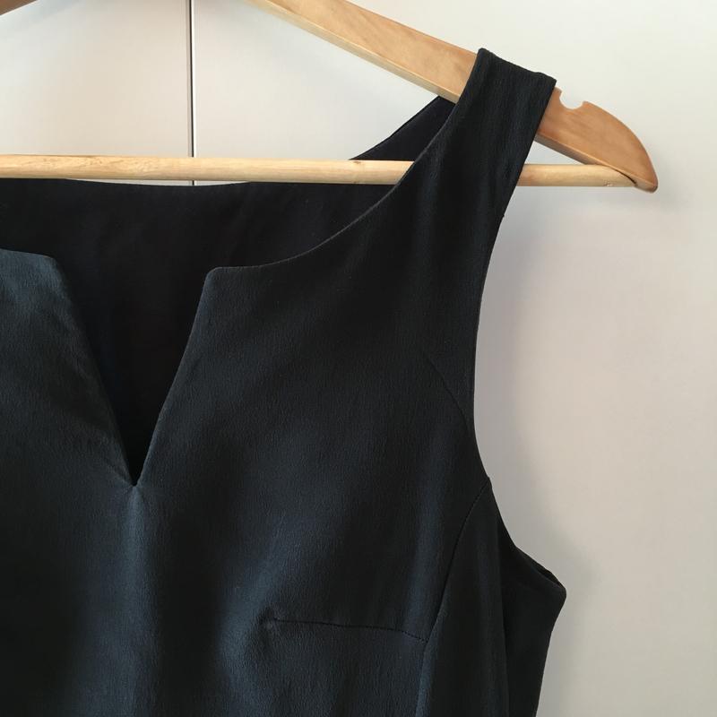 Petite robe noire en soie - Des Idées Par Milliers