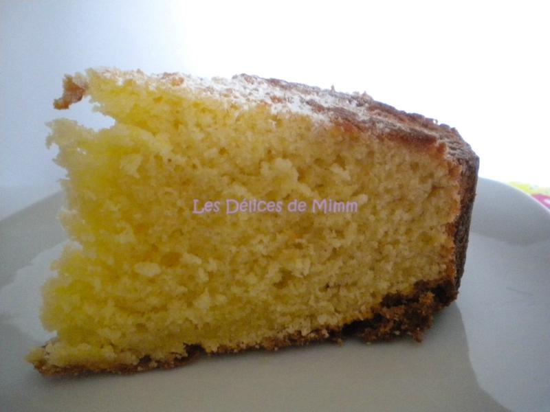 Gâteau au yaourt au miel de fleurs d'oranger 2