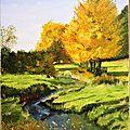 Le ruisseau en automne