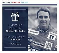 nigel mansell 64 years