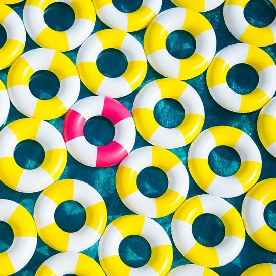 bouées jaune