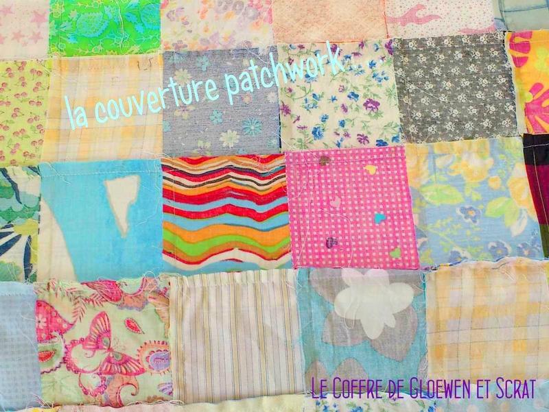 Couverture patchwork tissu (4)