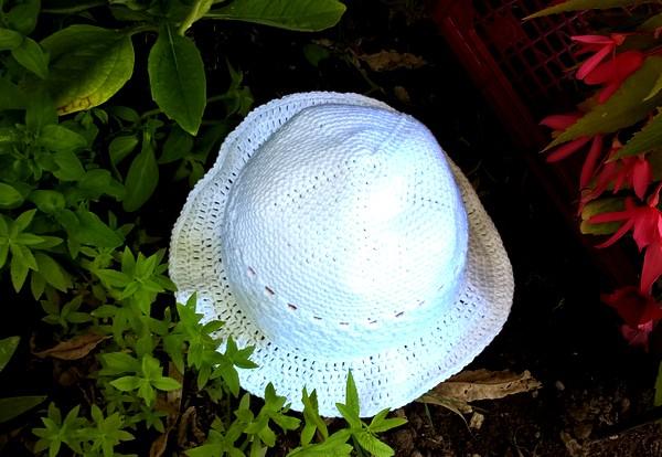 défi été 2018 chapeau pour le jardin 01