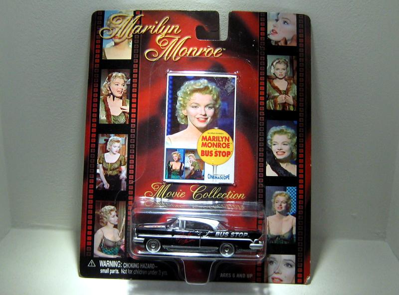 Lincoln de 1957 Marilyn Monroe in Bus stop (Johnny lightning)