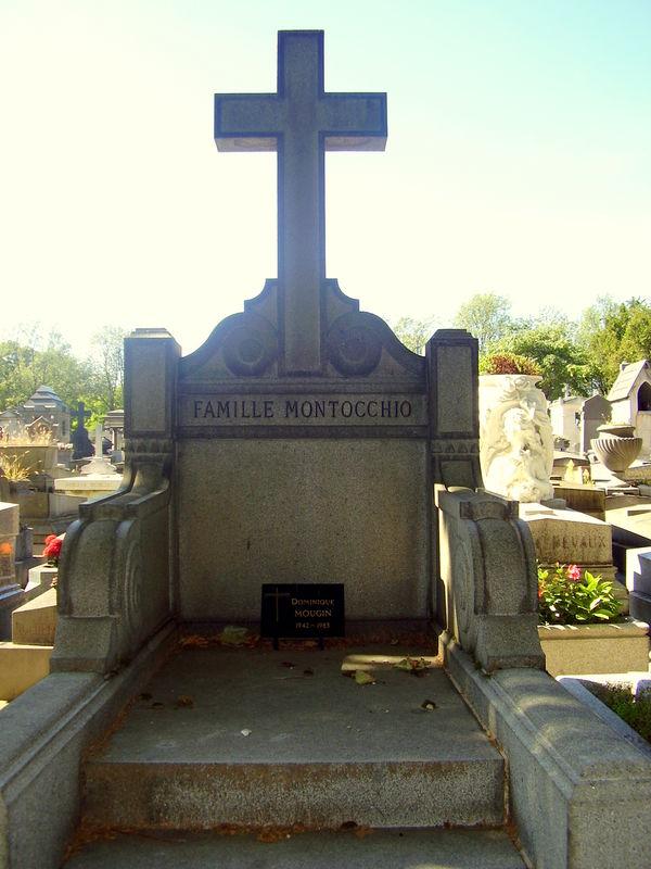 Montocchio Famille_Caveau Père Lachaise