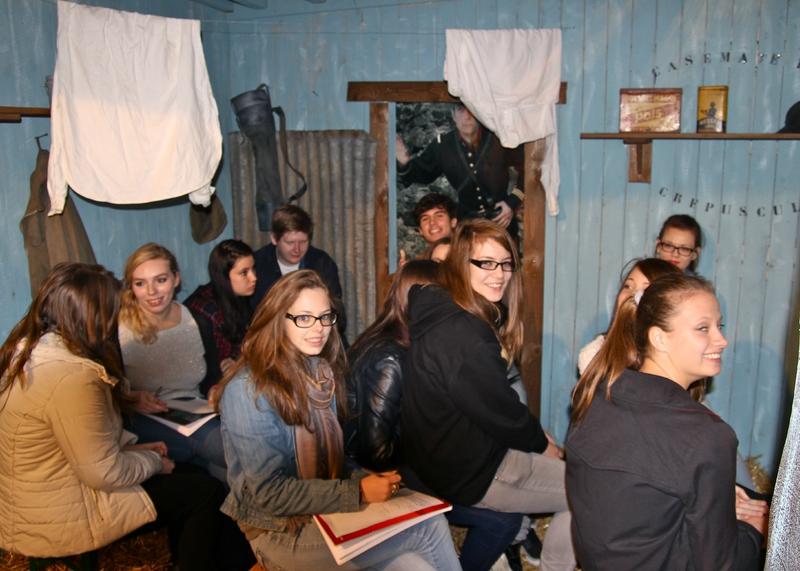 14-18 CASEMATE GALERIE GILBERT ARDUIN visite lycée