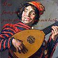 Bouffon, luth et poète...
