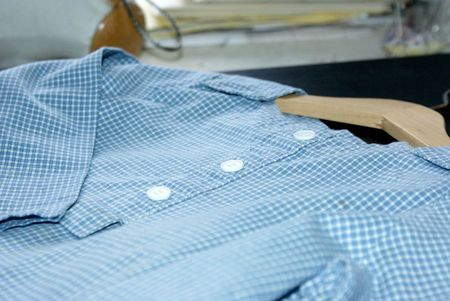 chemise dimanche boutons