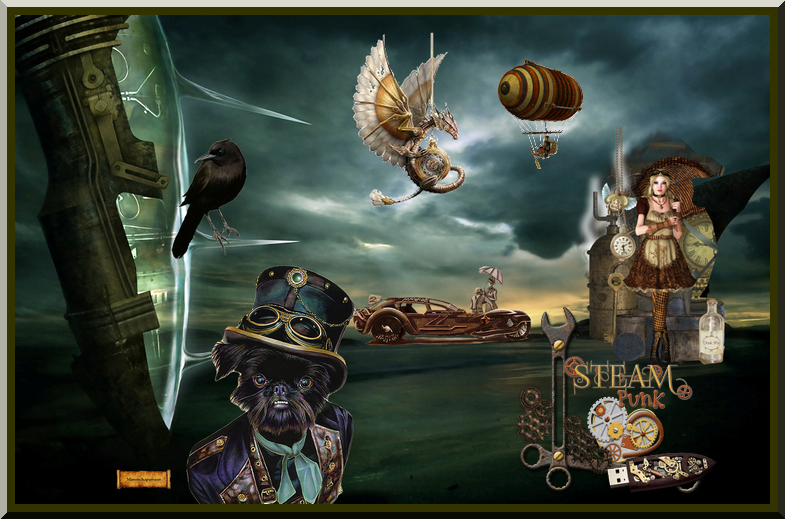 Steampunk vu par minouchapassion