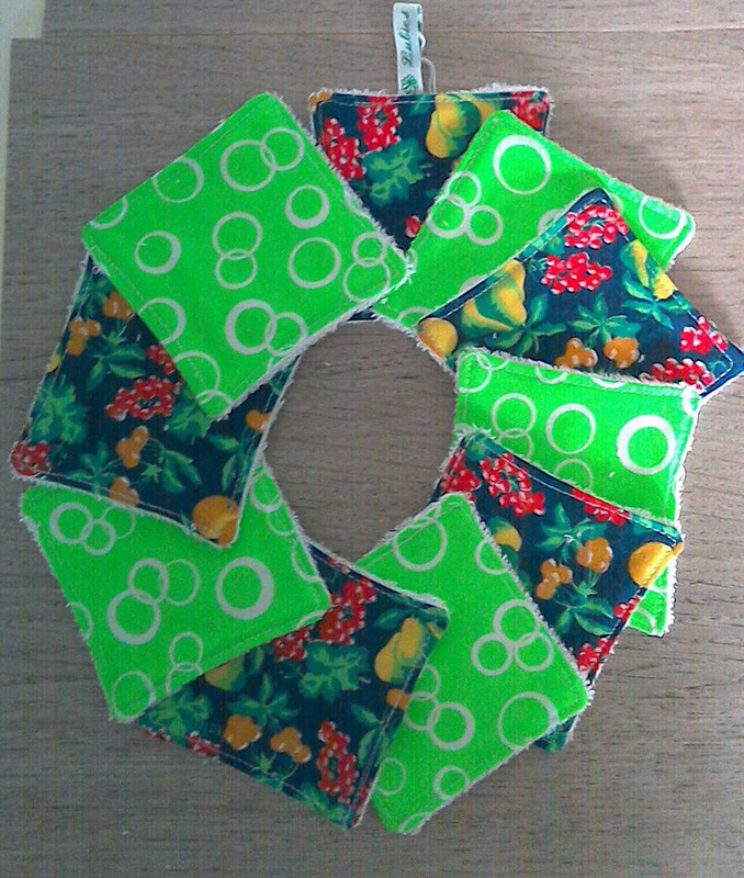 lingettes fruits vert fluo réf pl 503