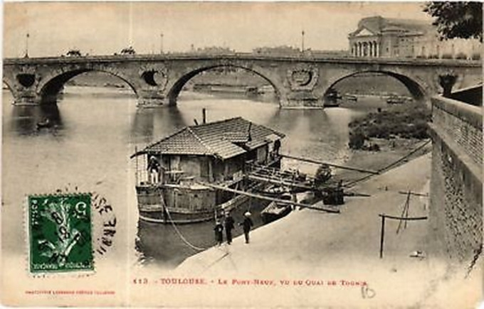 CPA-Toulouse-Le-Pont-Neuf-vu-ducompress