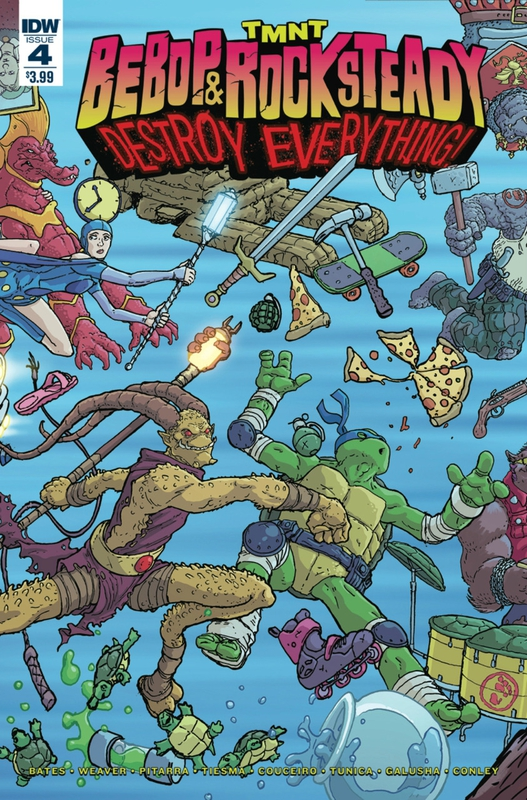 IDW TMNT bebop & rocksteady destroy everything 04