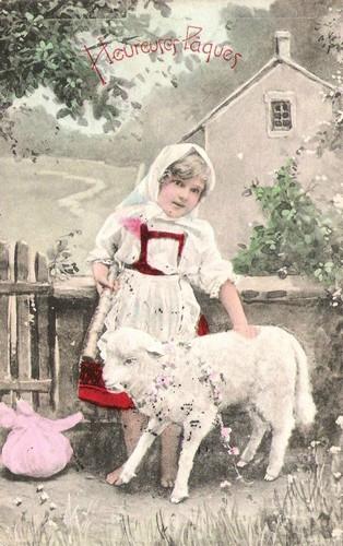 Carte Heureuse Paques Marguerite Pipot blog
