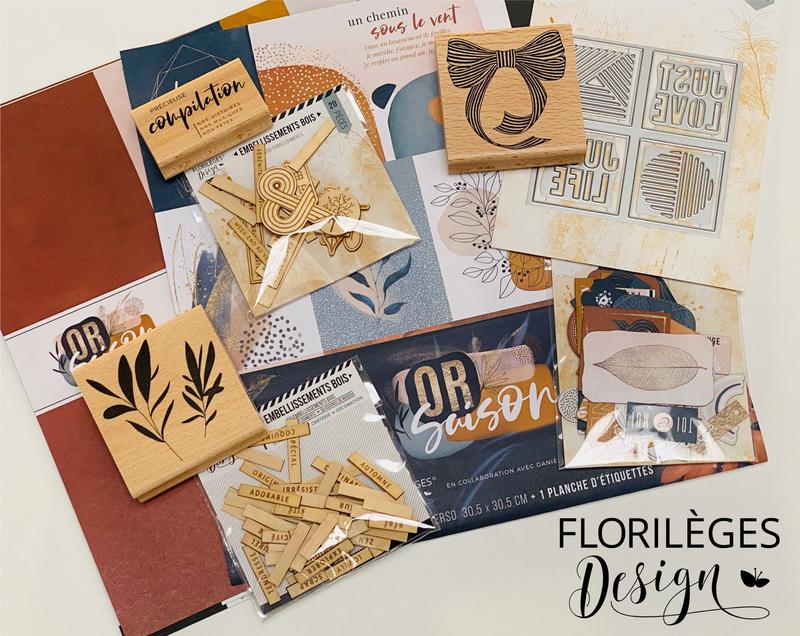 faites le buzz_florileges design_gard au scrap _laure lebard_