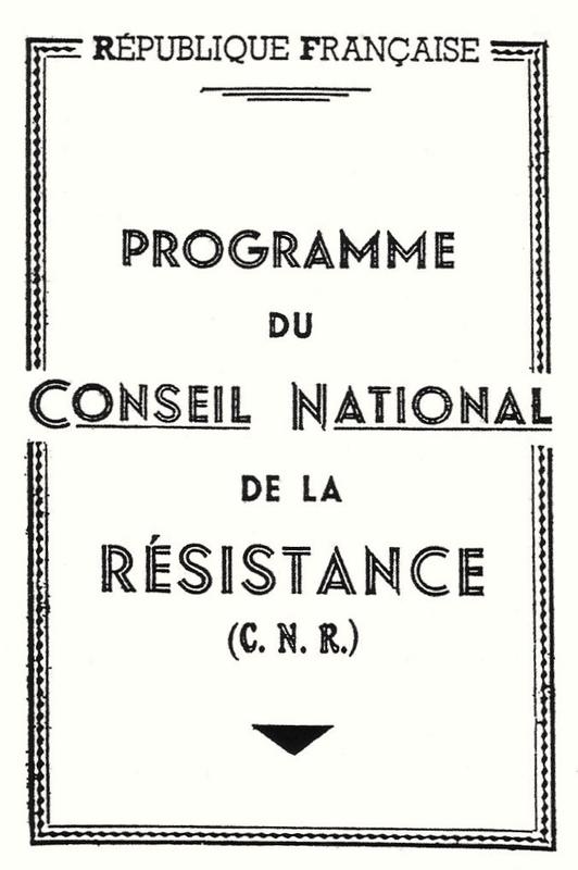 programme CNR, couv