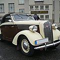 Opel super six 2,5 liter cabriolet hebmüller