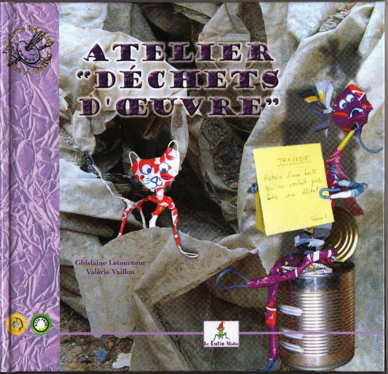 Couverture Verso Panique à Jolibois - Atelier déchets d'oeuvre - Atelier récupération création - Ecologie enfant