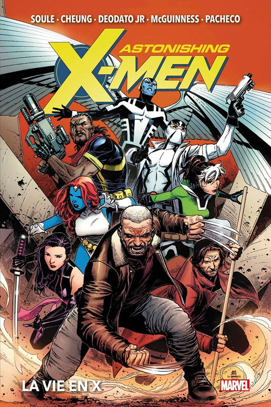marvel deluxe astonishing x-men 01 la vie en X