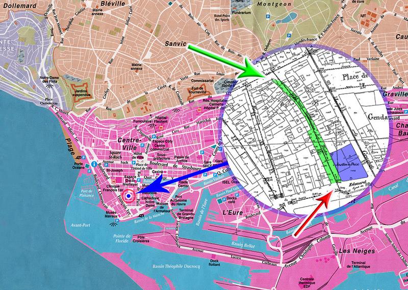 Le Havre Plan France