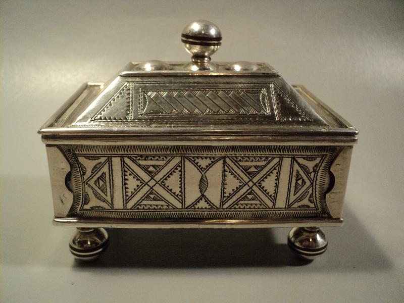 Petite Boite Coffre Touareg Argent Massif Tuareg Silver Box