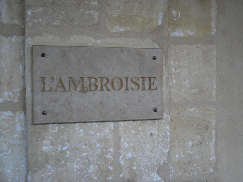 L'Ambroise, un hôtel connu du Marais...