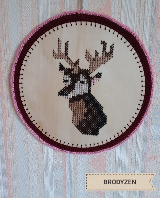 2019_002_défi Renne support bois bordure au crochet