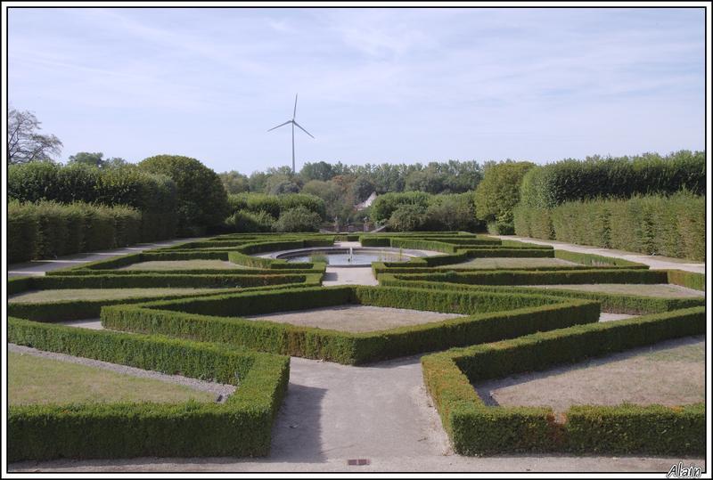 le parc du château de Seneffe