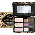 Cat eyes - palette fards à paupières - too faced