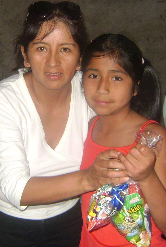 con la tía Marisol